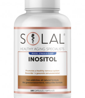 Inositol Mood, Stress & Sleep Supplement - Solal