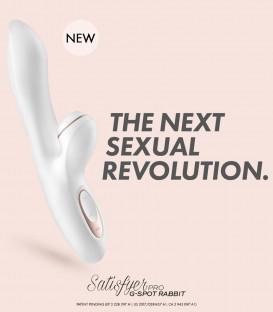 Pro G-Spot Rabbit Vibrator & Clitoral Stimulator - Satisfyer