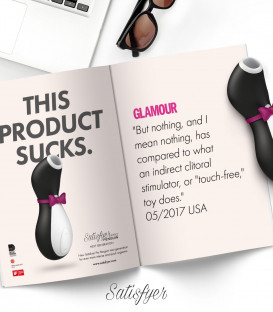 Pro Penguin Next Generation Clitoral Stimulator - Satisfyer 2