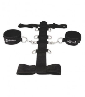 3 Piece Neck & Wrist Restraint Set - Lux Fetish