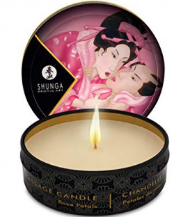 Soy Luxury Aphrodisia Massage Candle (Pack of 6 x 30ml) - Shunga