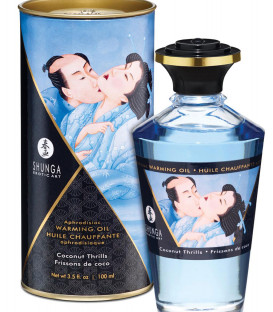 Intimate Kisses Edible Aphrodisiac Stimulating Oil - Shunga