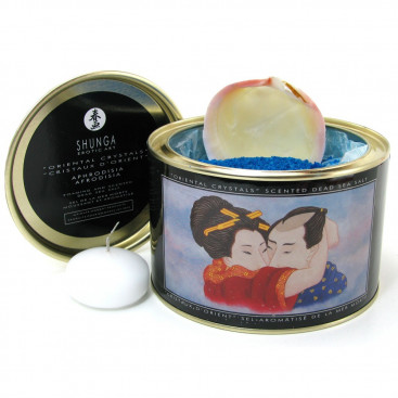 Oriental Crystals Scented & Arousing Dead Sea Salts - Shunga