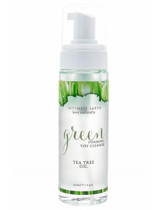 Green Tea Tree Toy Cleaner Spray - Intimate Earth