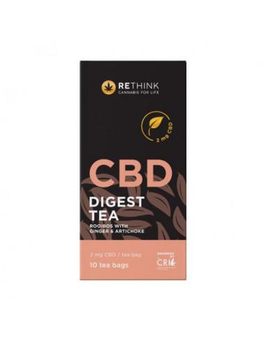CBD Digest Tea with Ginger &...