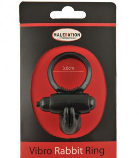Vibro Rabbit Cock Ring - Malesation