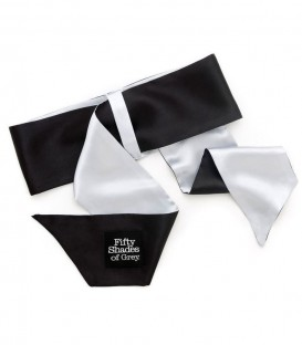 Soft Limits Satin Restraint Wrist Ties - Fifty Shades of Grey