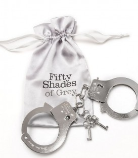 You are Mine Metal Handcuffs - Fifty Shades of Grey