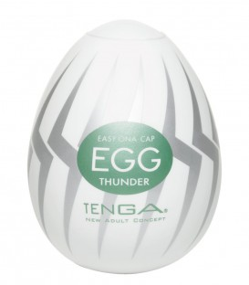 Tenga Egg Masturbator Thunder - Single