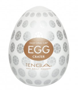 Tenga Egg Masturbator Crater - Single