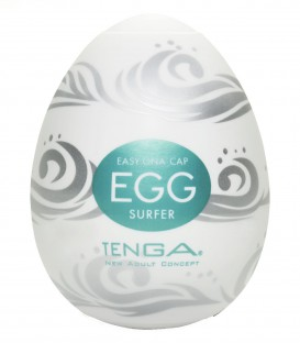 Tenga Egg Masturbator Surfer - Single