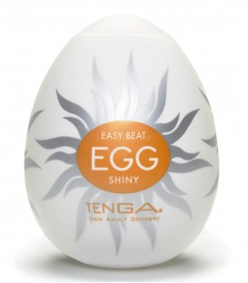Tenga Egg Masturbator Shiny - Single