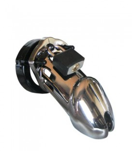 CB6000 Male Chastity Device - Chrome