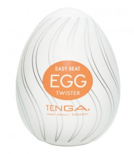 Tenga Egg Masturbator Twister - Single