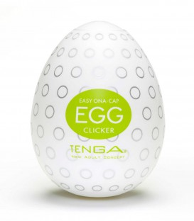 Tenga Egg Masturbator Clicker - Single