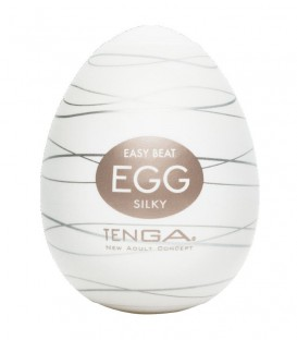 Disposable Easy Beat Regular Strength Male Egg Masturbator (Silky) | Tenga