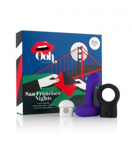 San Francisco Nights Vibrating Multi Pleasure Kit - Je Joue Ooh