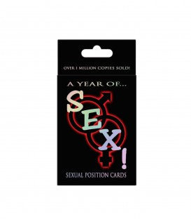 """A Year Of Sex"" Card Game - Kheper Games"