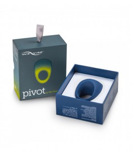 We Vibe Luxury Pivot Couples Vibrating Penis Ring - APP ready