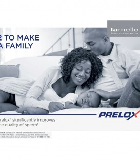 Prelox Patented Male Fertility Supplement - LaMelle