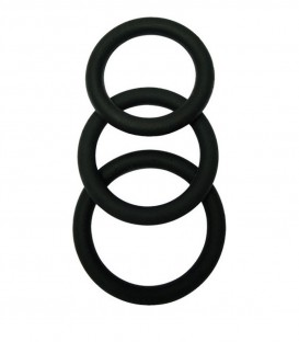 3 Piece Penis Ring Set - Malesation