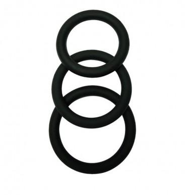 3 Piece Penis Ring Set - Malesation