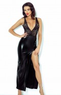 Jacqueline Black Lingerie Dress - Demoniq Lingerie