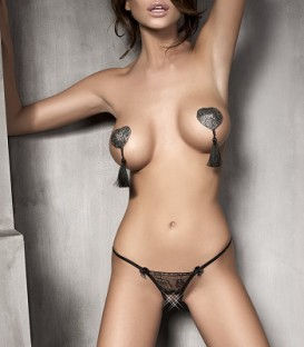 Evita Crotchless String - Anais