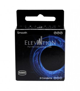 Elevation Smooth Condom - 3 Pack