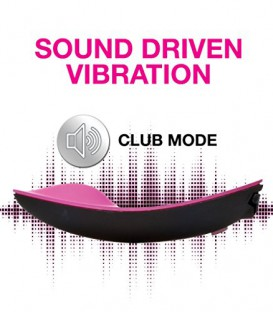 Club Vibe 3.OH Panty Vibe with remote and microphone - OhMiBod