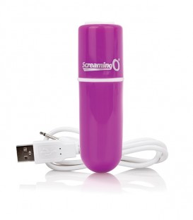 Charged Vooom Rechargeable Bullet Vibrator - Screaming O