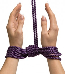 Fifty Shades Freed Want to Play Silk Bondage Rope - Fifty Shades of Grey