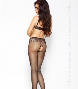 Monokini Style Crotchless Body Stocking - Passion