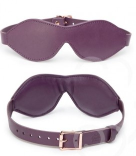 Cherished Collection Leather Blindfold - Fifty Shades Freed
