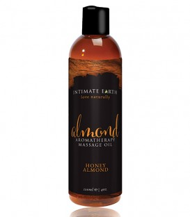 Honey Almond Aromatherapy All Natural Massage Oil - Intimate Earth