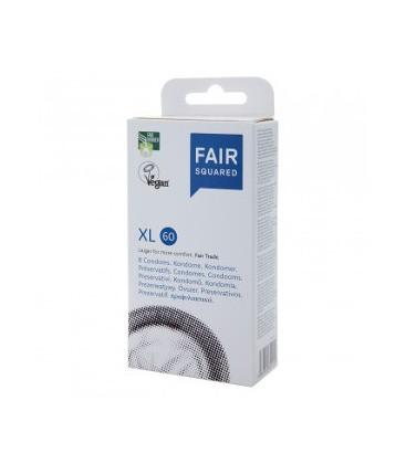 FairSquared XL Condoms - Pack of 8   FairSquared