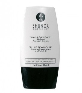 Rain of Love G Spot Arousal Cream & Water-based Lubricant - Shunga 2
