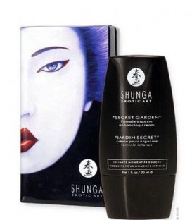 Secret Garden Clitoral Enhancing & Orgasm Cream - Shunga