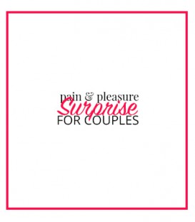 Pain & Pleasure Surprise Gift Box for Couples - Desir