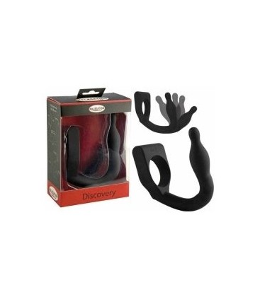 Discovery Vibrating Penis Ring with Prostate Massager - Malesation