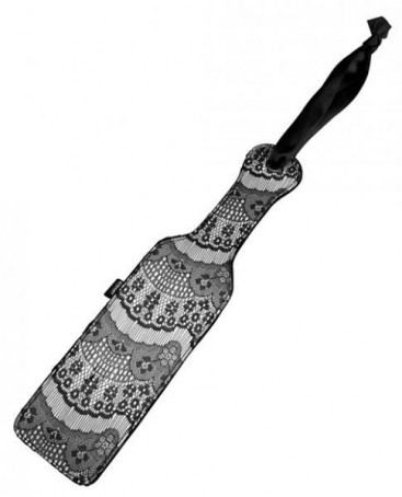 Luxury Lace Overlay Paddle - Steamy Shades