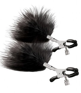 AdJustable Feather Nipple Clamps - Steamy Shades