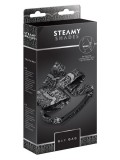 Satin Tie Bar Gag - Steamy Shades