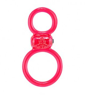 Ofinity Stretchy Cock & Ball Ring - Screaming O