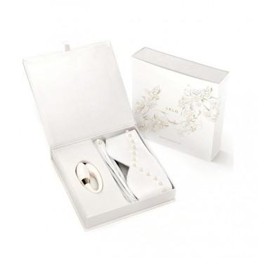 Bondage Set with the Luxury Noa Couples Vibrator - LELO