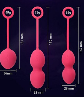 Nova Kegel Exercise Balls (Set of 3) - Svakom 2