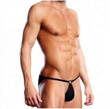 Performance Microfiber Pouch Bikini - Blue Line