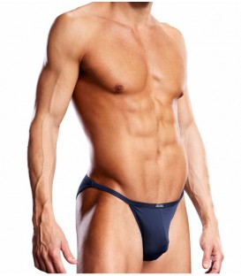 Performance Microfiber String Bikini - Blue Line