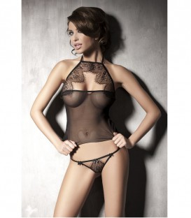 Mysterious 2-piece Lingerie Set - Anais