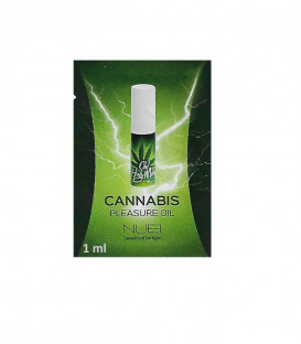 Cannabis Unisex Pleasure Oil Sachet (Single 1ml) - Oh! Holy Mary